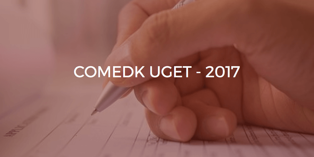 COMEDK UGET Counselling 2017