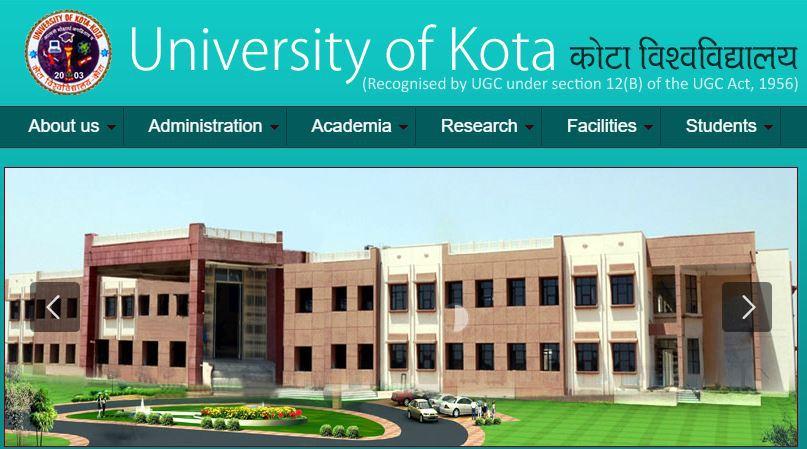 KOTA University Admission 2017