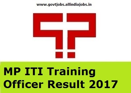 MP Online ITI Result 2017