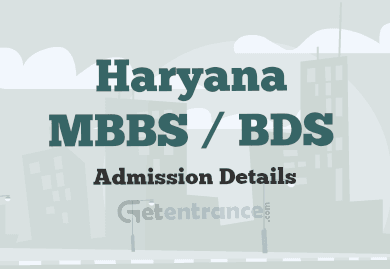 Haryana MBBS / BDS Admission 2017
