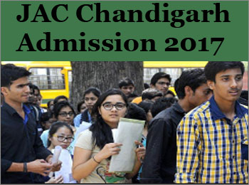 JAC Chandigarh 2017 – Chandigarh Engineering & Architecture Admission