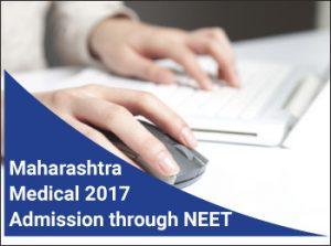 DMER Maharashtra Medical Admission 2017 Through NEET 2017