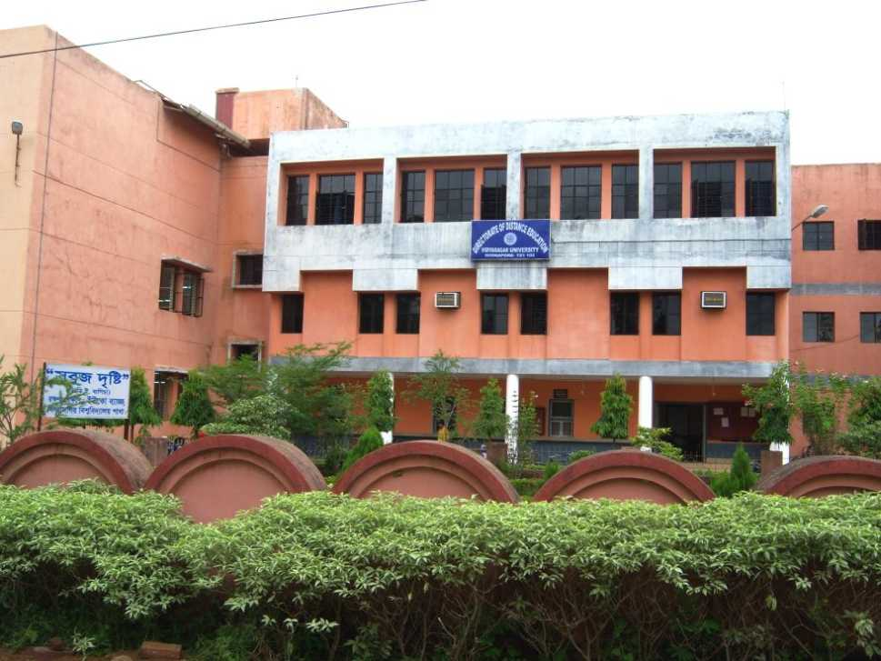 Vidyasagar University PG Admission 2017