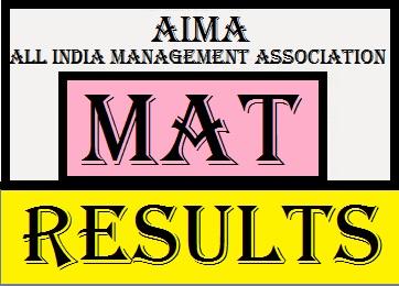 MAT Result 2017 | AIMA