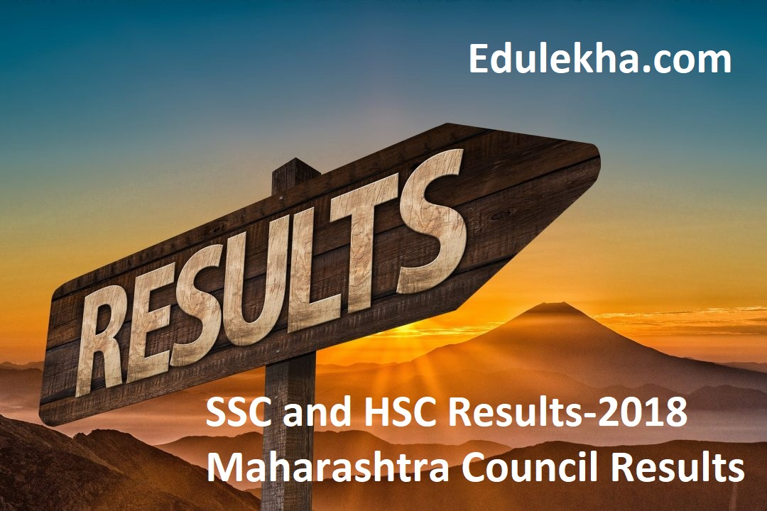 SSC and HSC Results-2018 Maharashtra Council Results