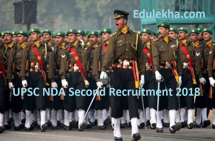 UPSC NDA Second Recruitment 2018