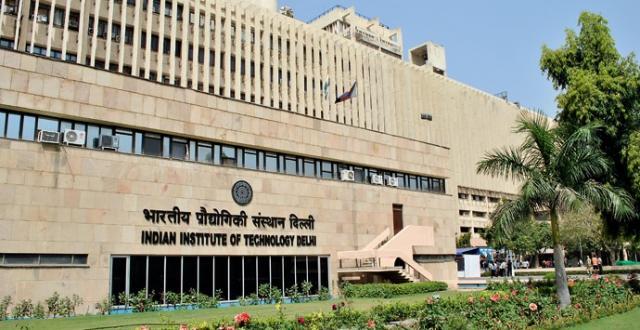 Indian Institute of Technology Delhi – (IIT Delhi)