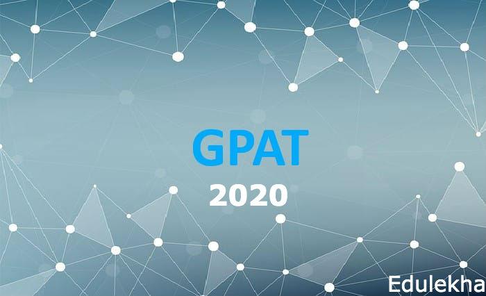 GPAT Exam Date, Syllabus – 2020