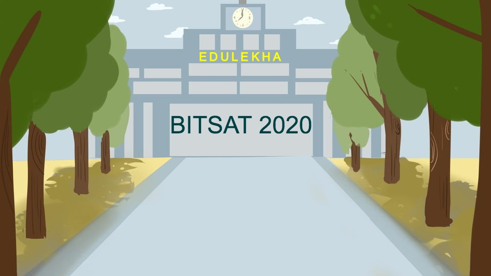 BITSAT 2020 Latest Update