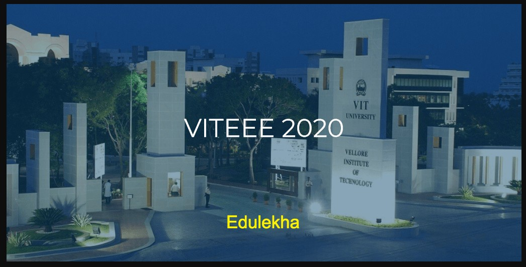 VITEEE Application 2020